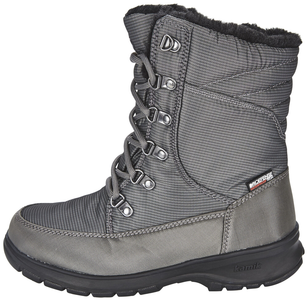 Kamik Bottes Bronx Femmes Gris Taille 38 mAuaL1Fo
